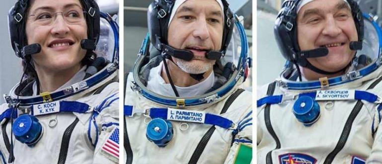Астронавтът на NASA Кристина Кох, Лука Пармитано - инженер от
