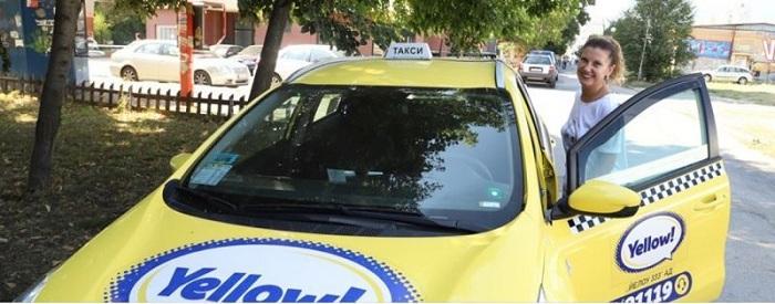 Кара кола на Yellow taxiТоп репортерът Миролюба Бенатова вече е