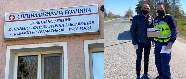 Народните представители от ГЕРБ-Русе Пламен Нунев и Андриан Райков, както