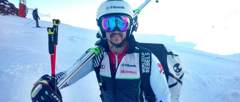 Звездата ни в алпийските ски Алберт Попов направи много точен