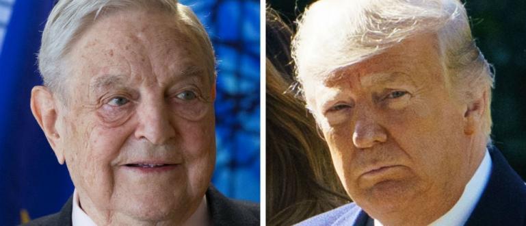Милиардерът Джордж Сорос нарече президента на САЩ Доналд Тръмп