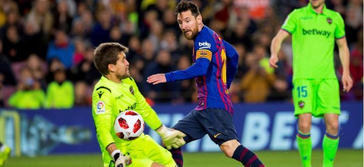 Барселона победи Алавес с 4:1 в мач от 18-ия кръг