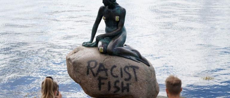 Полицията в Дания разследва вандалска проява от петък срещу статуята