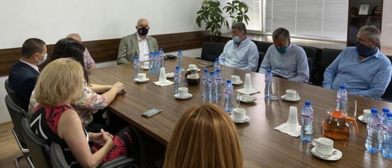 Главният прокурор Иван Гешев и заместниците му Даниела Машева, Красимира