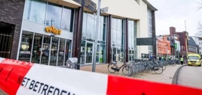 В центъра на холандския град Гронинген служителите на кино Pathé