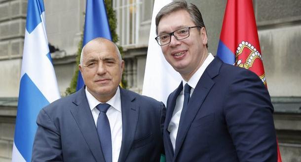 Премиерът Боййко Борисов и президентът на Сърбия Александър Вучич ще