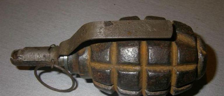 Силно корозирала ръчна граната е открита при почистване на мазе