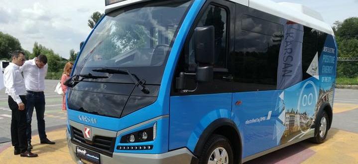 Тестов електробус ще се движи за една седмица в столичните