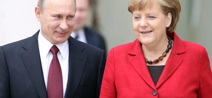 Президентът на Русия Владимир Путин е поздравил канцлера на Германия