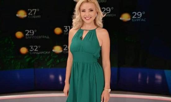 Най-красиватасиноптичка на БНТ Ева Кикерезова се размина на косъм от