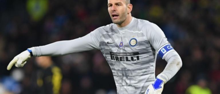 Вратарят на Интер Самир Ханданович ще се завърне в игра