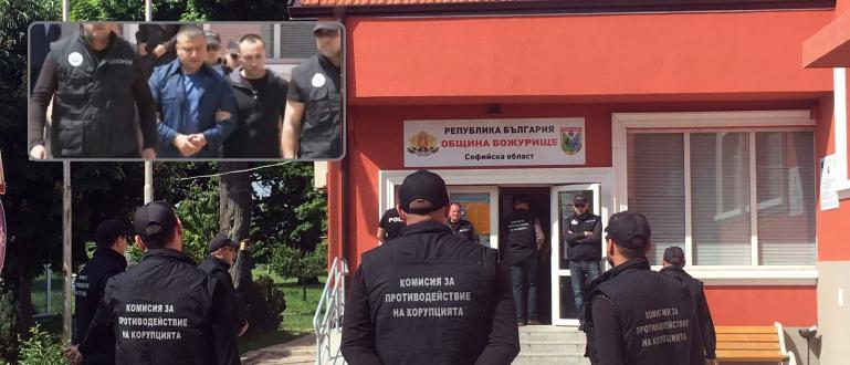 Кметът на Божурище Георги Димов, който бе арестуван вчера, е