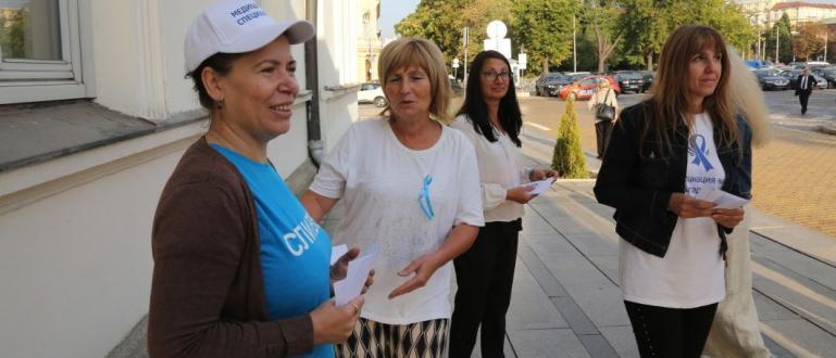 И днес продължава протестът на медицинските сестри за по-високи заплати