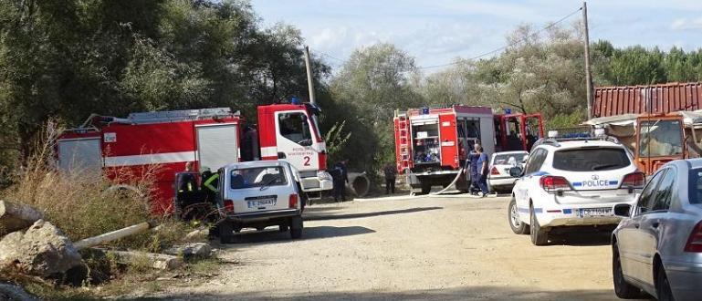 Газова бутилка избухна при ремонт на къща край благоевградското село