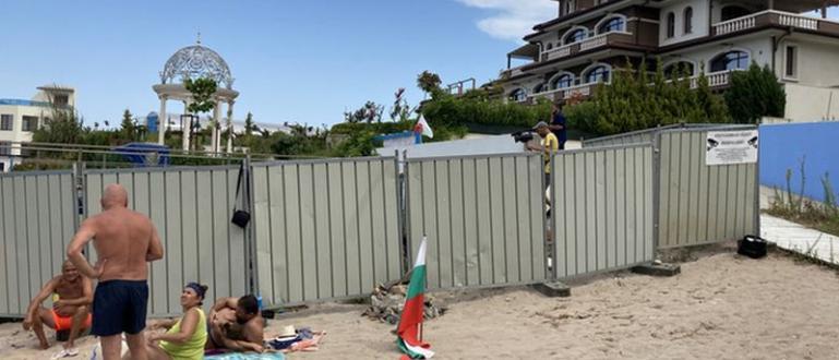 """Почетният председател на ДПС Ахмед Доган изненада плажуващите на """"Росенец"""","""