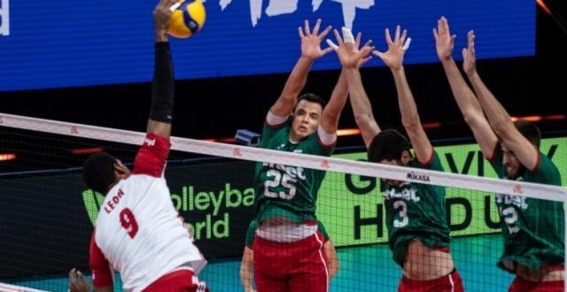 Фото bTVМъжкият национален отбор на България по волейбол допусна шеста