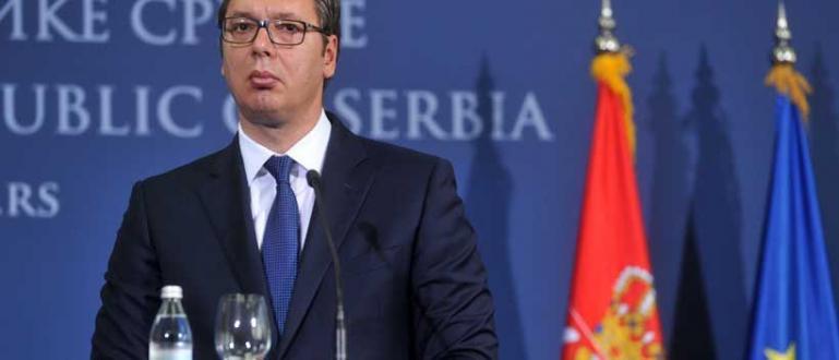Сръбският държавен глава Александър Вучич съобщи, че ще използва днешната