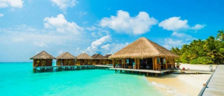 Курорт на Малдивите, който е бил популярен като много луксозен
