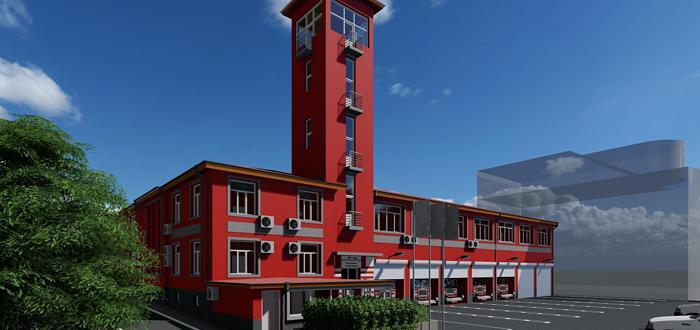 Сградата на бургаската Служба за пожарна безопасност ще претърпи най-сериозният