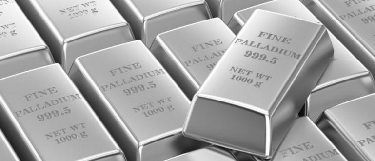 Един метал удари златото в земята. Това е паладият, койтопpoдължaвa