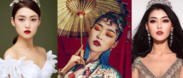 Последната носителка на короната Мис Китай Роузи Джу Син (ROSIE