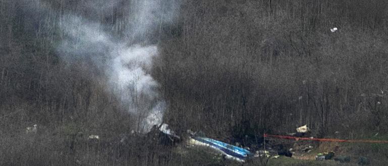 Хеликоптерът Сикорски Ес-76Б, при чиято катастрофа в Калифорния загинаха легендарният