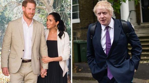 Британският премиер Борис Джонсън поздрави принц Хари и Меган Маркъл