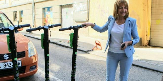 150 електрически тротинетки са предоставени на София за споделено пътуване.
