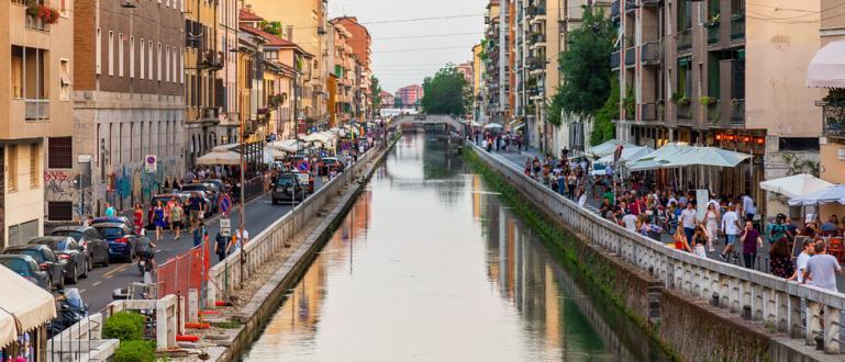 Жители на Милано бяха изненадани от необичайна гледка – във