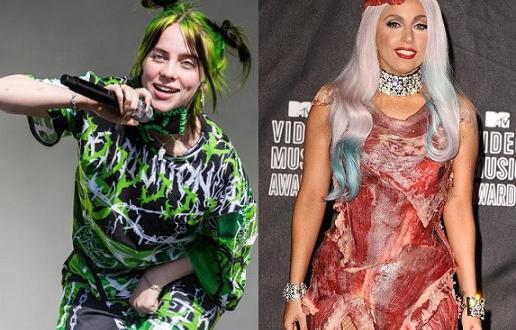 Били Айлиш разгневи феновете на Лейди Гага само с една
