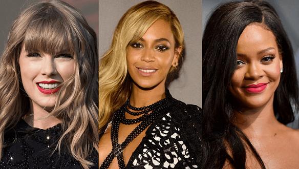 """От списание """"Форбс"""" обявиха класацията за топ 10 най-високоплатените певици"""