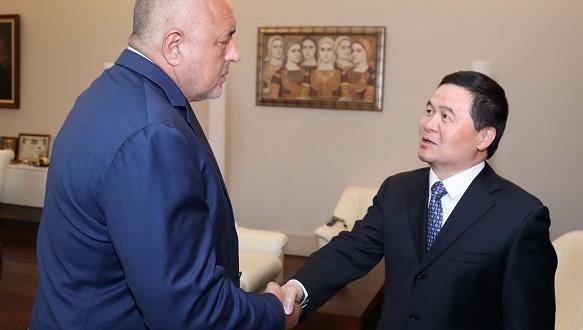 Министър-председателят Бойко Борисов се срещна с посланика на Народна Република