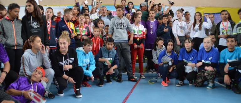Снимка: 280 участваха в националния шампионат за деца в риск