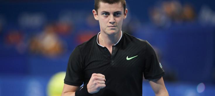 Талантливият български тенисист Александър Лазаров спечели титлата на двойки на