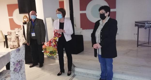 Кметът на Община Казанлък приветства участниците в Държавното училищно първенство