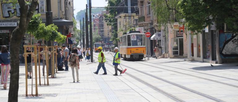 Наложените санкции за незадоволително качество на ремонта на централната градска