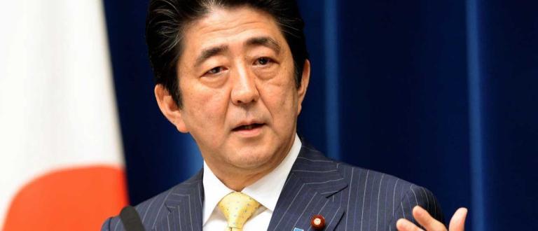 Заради скок при случаите на корованирус японският премиер Шиндзо Абе