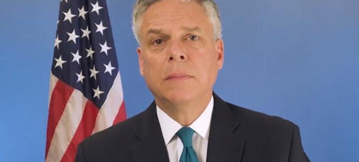Посланикът на САЩ в Русия Джон Хънтсман подаде оставка. Той