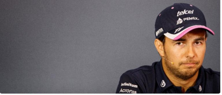 Пилотът Серхио Перес от Райсинг пойнт е дал нова положителна