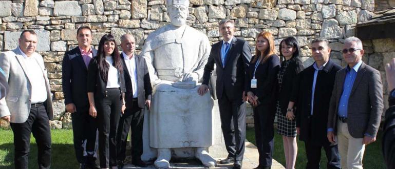 Кандидатът за президент на ДПС Мустафа Карадайъ посети уникален културно-исторически