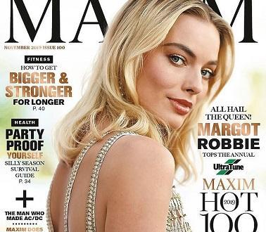 """Марго Роби оглави списъка на """"Максим"""" Австралия """"Hot 100"""". От"""