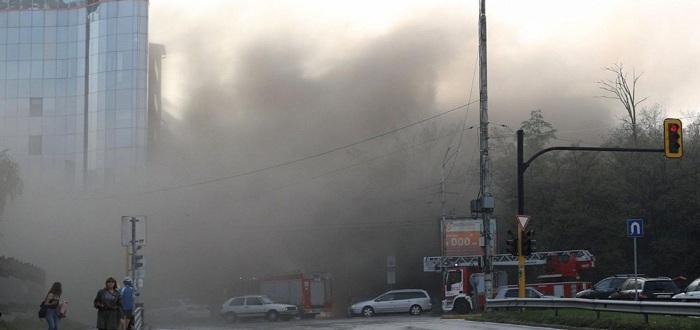 Снимка: Пламна ресторант Кошарите в София