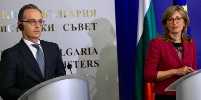 Външните министри на България и Германия - Екатерина Захариева и