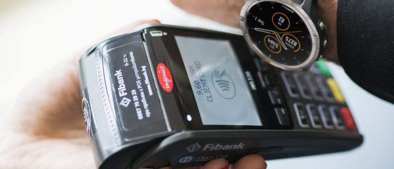 Fibank пуска мобилни разплащания в партньорство с GarminОт Мoney.bg разговаряха