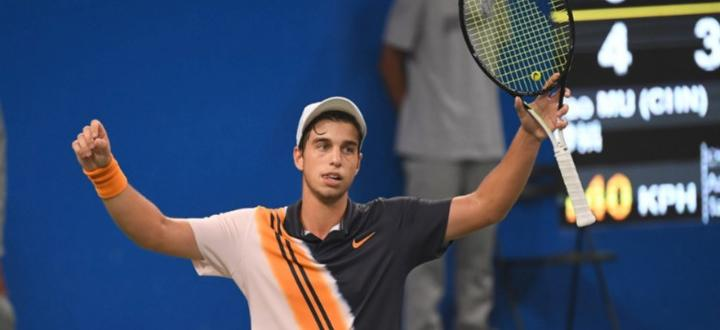 Големият ни талант в тениса Адриан Андреев записа втора поредна