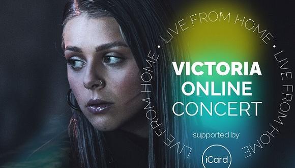 Първият онлайн концерт на Виктория, която ще представи България на
