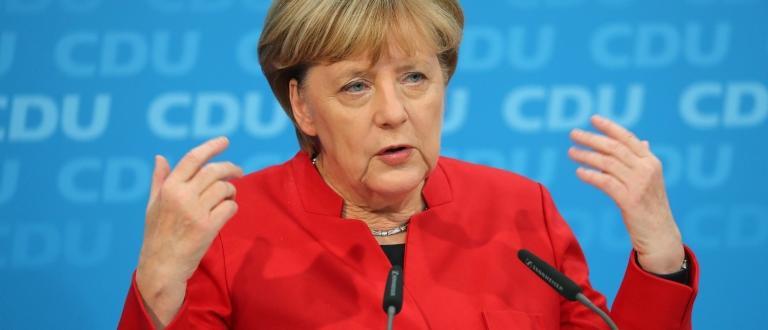 Германският канцлер Ангела Меркел няма да участва в срещата на