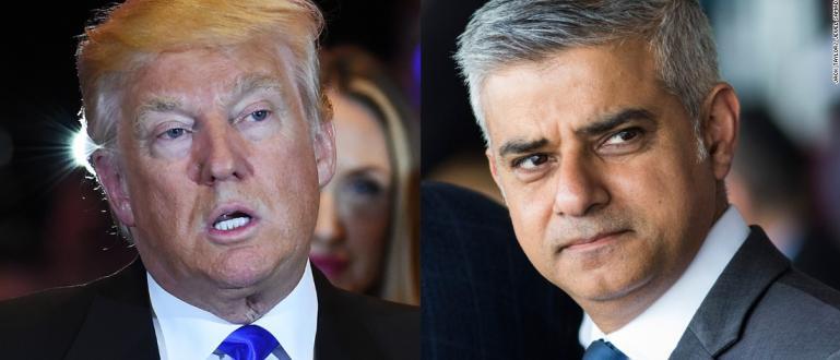Доналд Тръмп отново разкритикува кмета на британската столица Садик Кан,