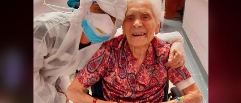 Първата и Втората световни войни е преживяла 104-годишна италианка, която