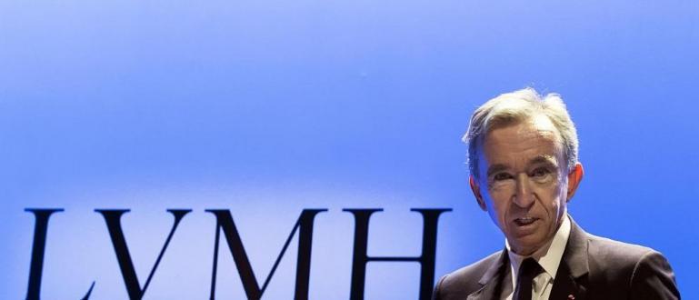 Най-богатият французин Бернар Арно, шеф на френския великан Луи Вюитон